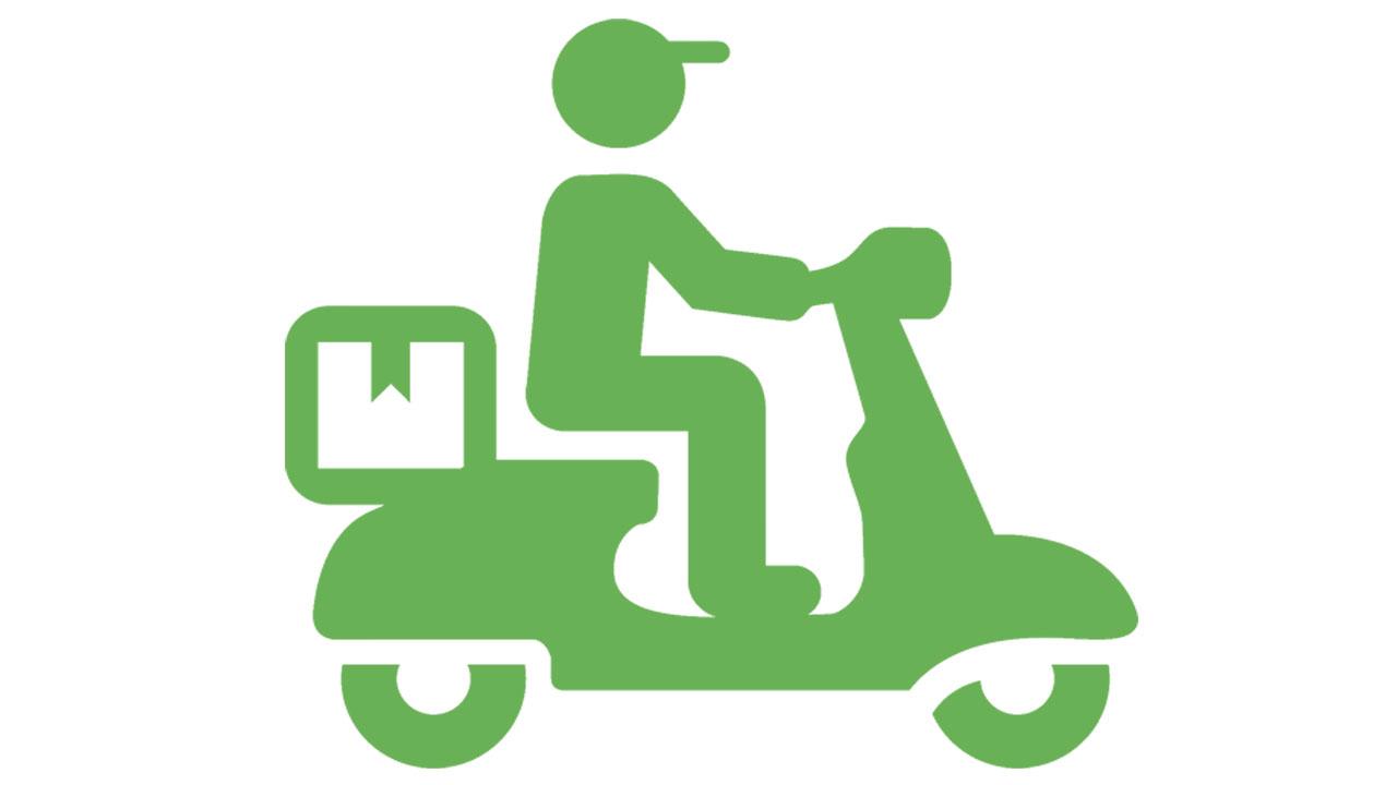 Servicio de delivery entrega a domicilio en página web de restaurantes